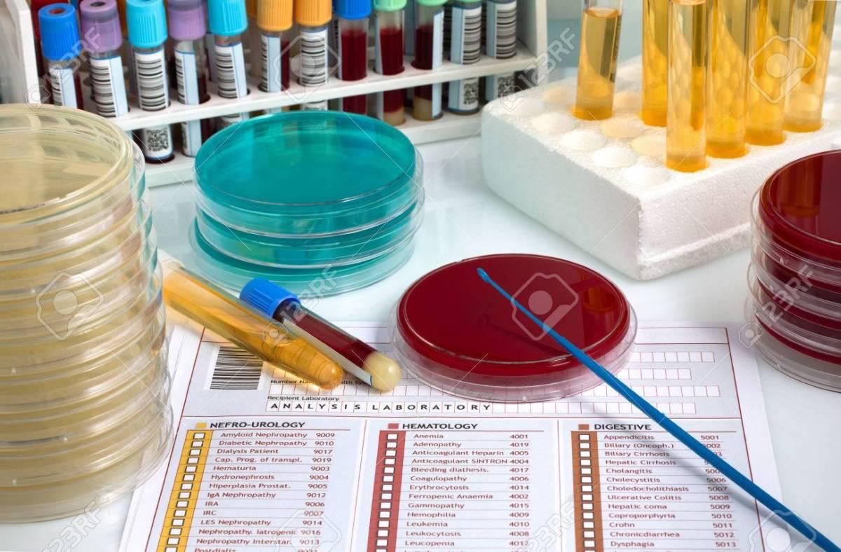 Φυσιολογικές τιμές μικροβιολογικών εξετάσεων γενικής, βιοχημικής και ανοσολογικής αίματος